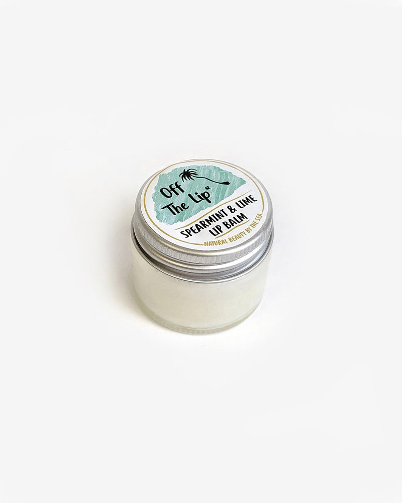 The Coconut Bee 'Off The Lip' - Spearmint & Lime Lip Balm