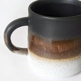 Glazed Ombre Black Mug