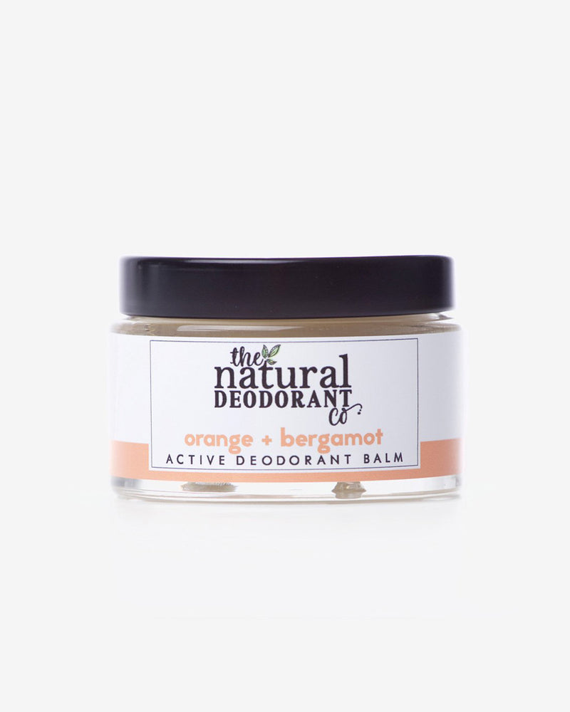 Orange & Bergamot Active Natural Deodorant Balm