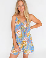 'Del Sur Mini' Tropical Romper