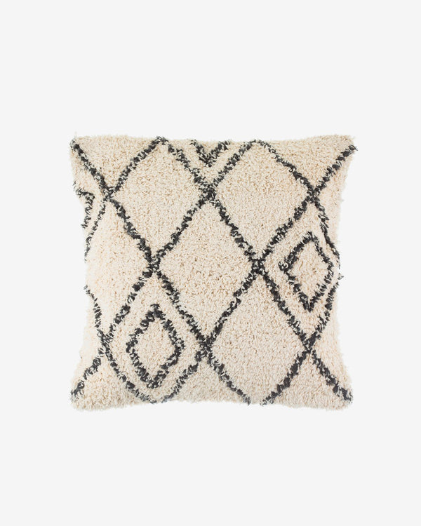 SurfGirl Beach Boutique Home Decor Interior Scandi Boho Diamond Cotton Textured Cushion