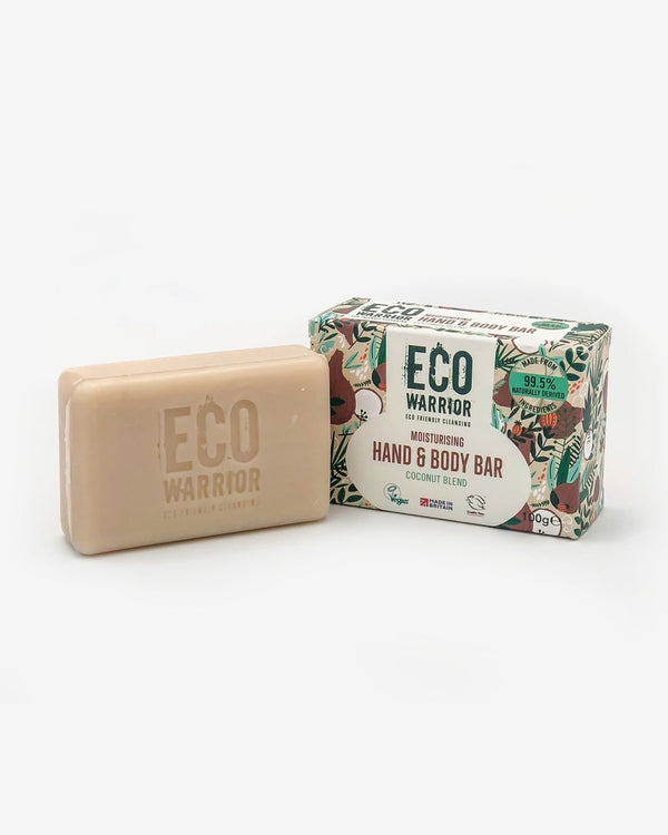 SurfGirl Beach Boutique Eco-Warrior Moisturising Hand & Body Cleansing Bar - Coconut Blend