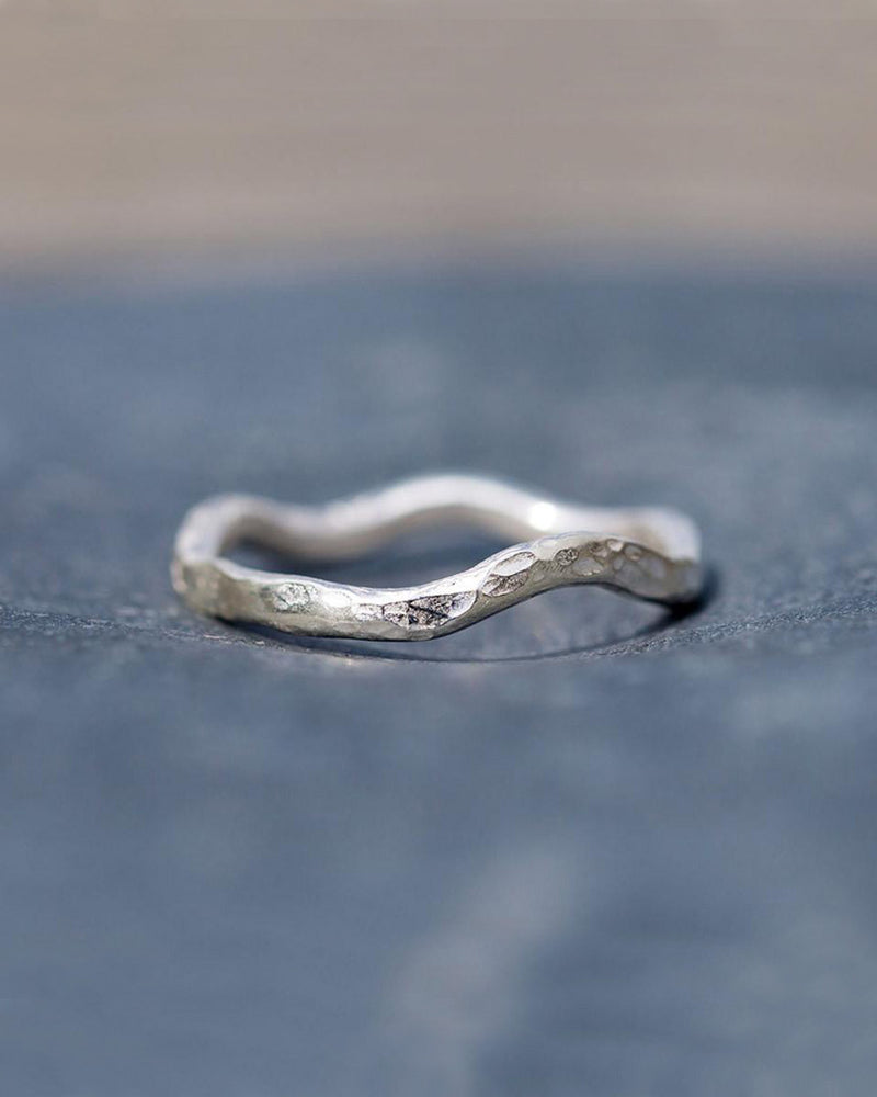 Spindrift Swell Lines Ring