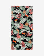 SurfGirl Beach Boutique Slowtide 'Makai' Beach Floral Tropical Pattern Towel