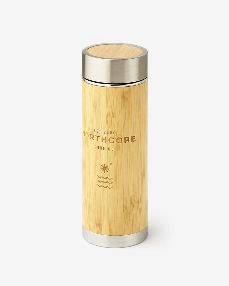 Northcore - Bamboo Thermos Flask 360ml