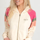 Rip Curl 'Shore Side' Zip Up Hooded Sweater