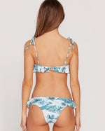 Volcom 'I'm Not Shore' Croplette Bikini Top in Tidal Blue