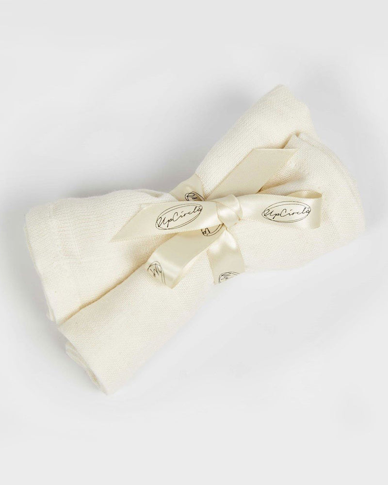 Organic Muslin Cloths by UpCircle