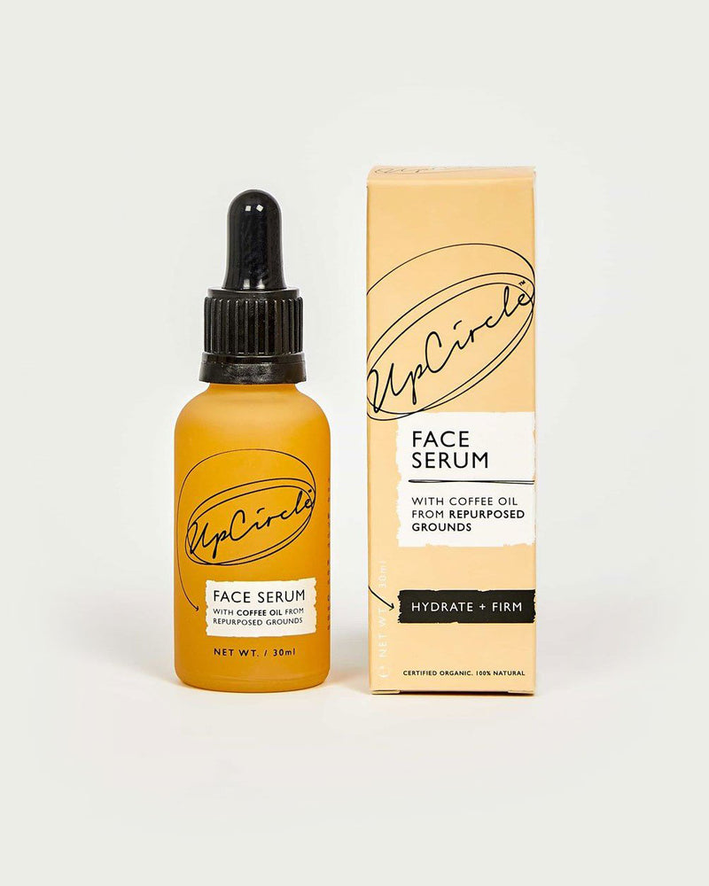 Hydrating Organic Face Serum with Coffee Oil by UpCircle