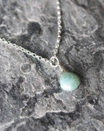 Sadie Jewellery Larimar Pendant Necklace