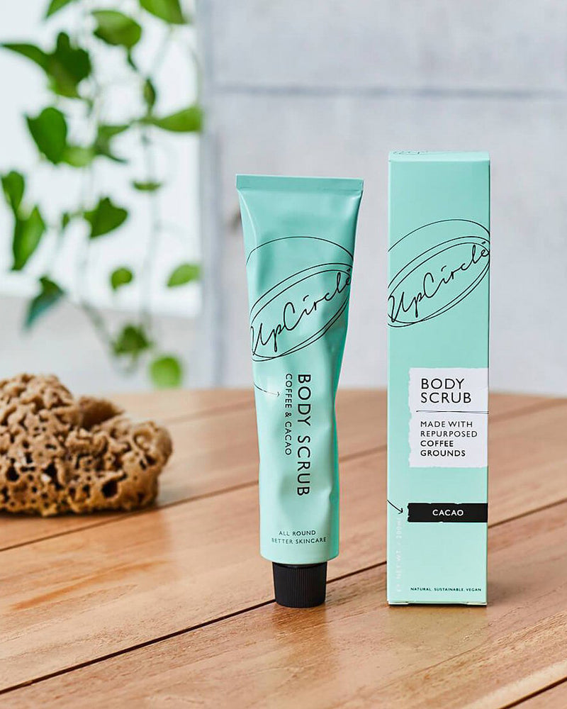 Coffee Body Scrub With Cacao by UpCircle