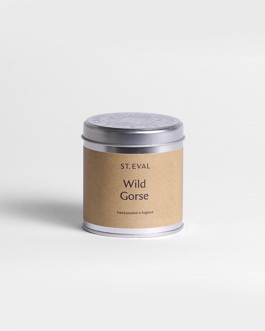 SurfGirl Beach Boutique St Eval Wild Gorse Scent Scented Tinned Candle