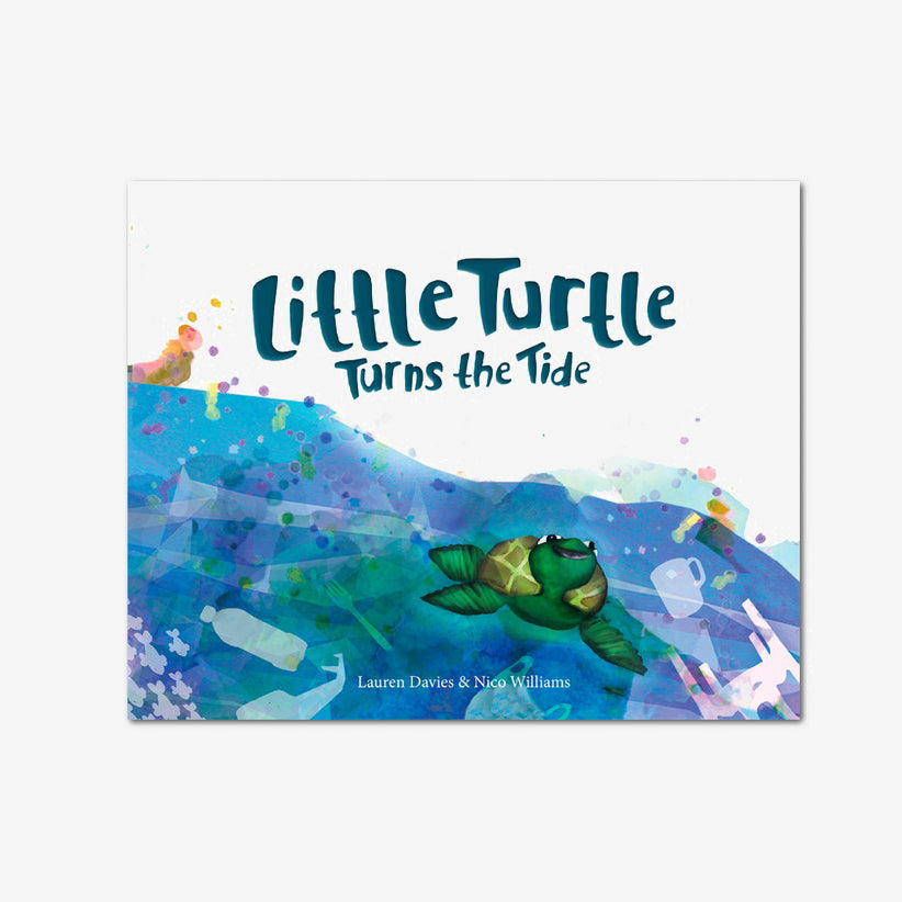 'Little Turtle Turns The Tide' Children's Book