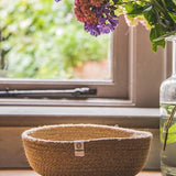 Medium Jute Bowl in Natural