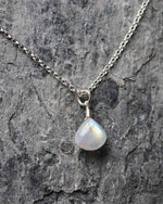 Sadie Jewellery Ladies Sterling Silver Sadie Jewellery Moonstone Pendant Necklace