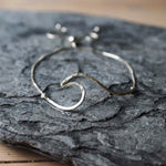 Sadie Jewellery Sterling Silver Whipsiderry Wave Bracelet