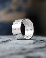 Sadie Jewellery Chunky Mermaid Scale Ring