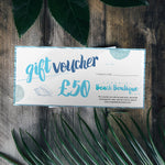 SurfGirl Beach Boutique, Gift Voucher, £50