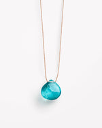 Apatite Fine Cord Necklace by Wanderlust Life