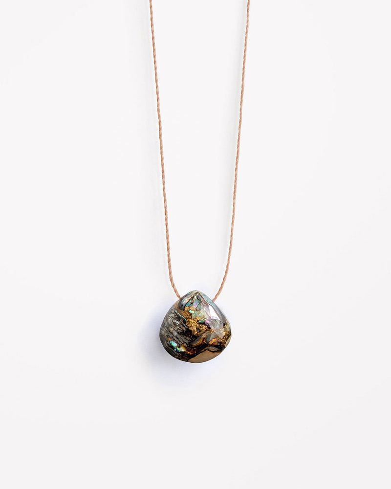 Paua Fine Cord Necklace by Wanderlust Life