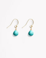 Isla Drop Earrings in Turquoise by Wanderlust Life