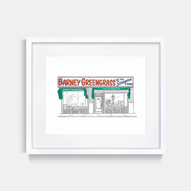 Barney Greengrass Art Print