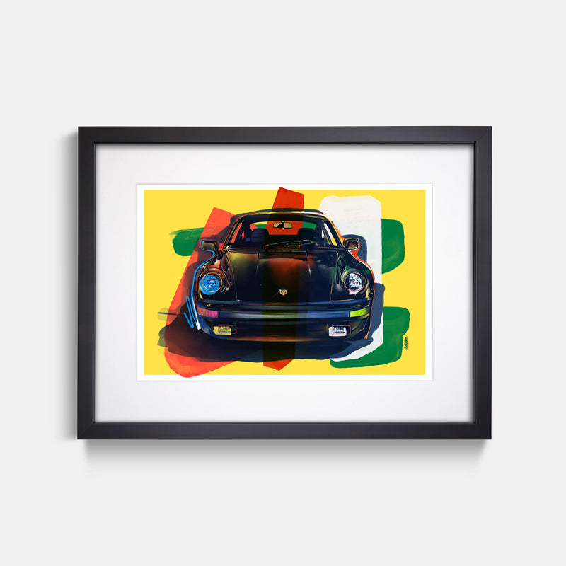 Turbo Print by Stephen Selzler Black Frame