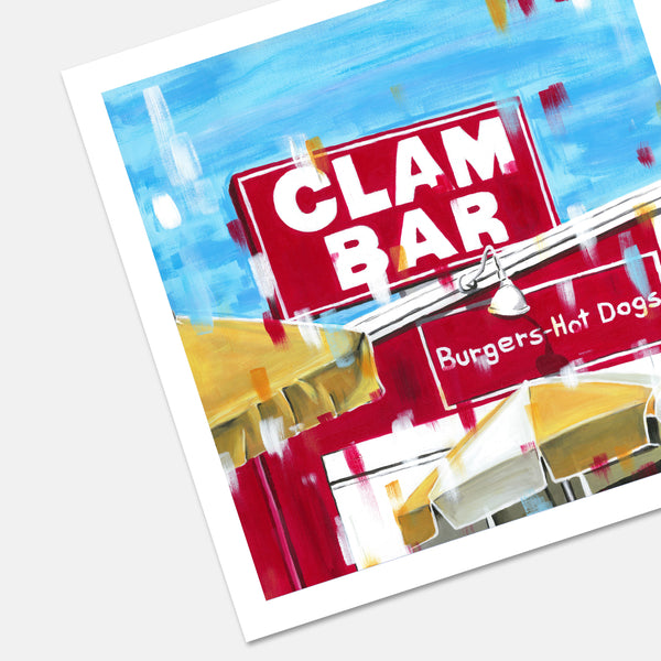 Clam Bar At Napeague Print Montauk