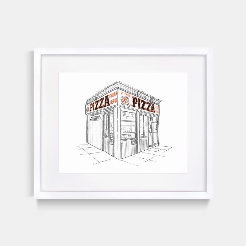 Di Fara Pizza Art Print