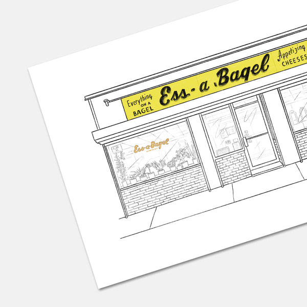 Ess-a-Bagel New York Print