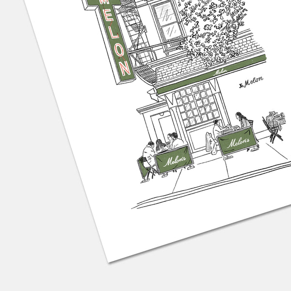 JG Melon Upper East Side Print
