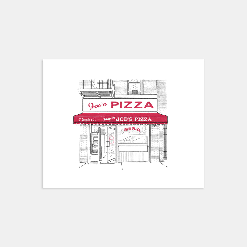 Joe's Pizza of Greenwich Village Print