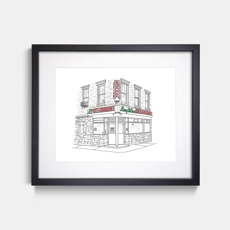 The Long Island Bar Art Print