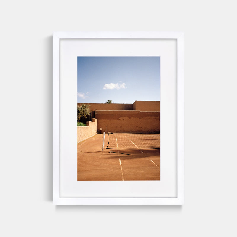 Marrakech Tennis Court Morocco Film Print