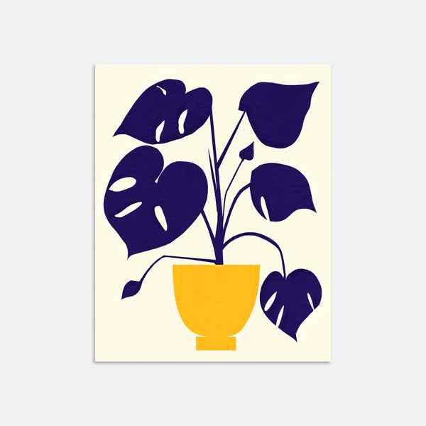 Monstera Art Print By Jordan Lee