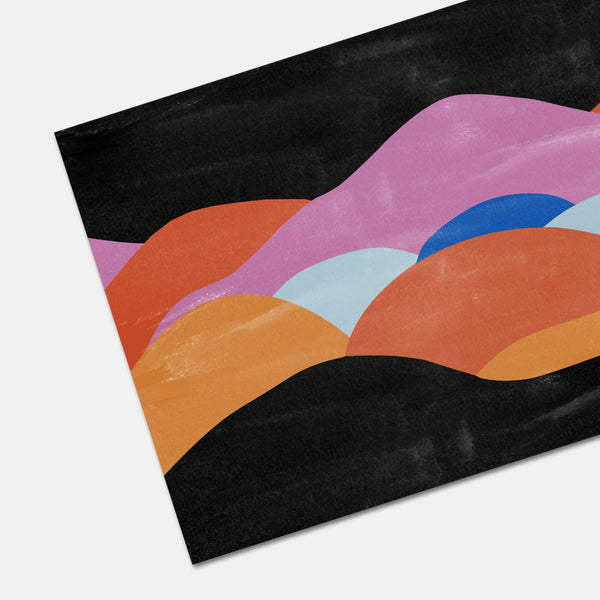 Montagne Abstract Shapes Art Print