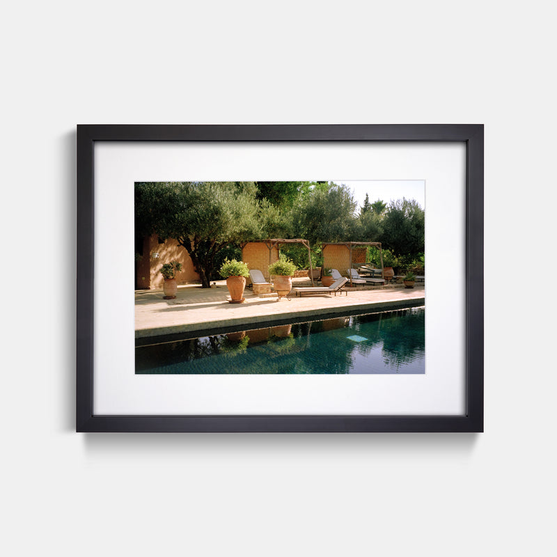 Morocco Pool Film Print by Anna Pihan
