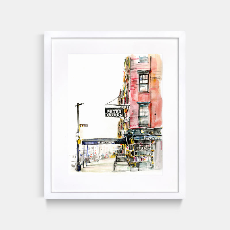 Pete's Tavern Art Print