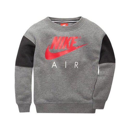 Children's Sweatshirt without Hood Nike 376S-GEH Grey Red