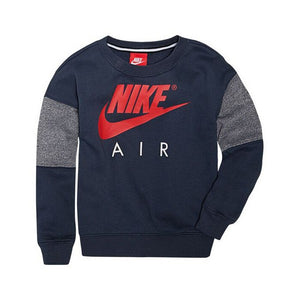 Children's Sweatshirt without Hood Nike 376S-U2Y Navy blue Red