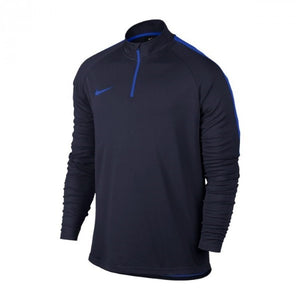 Training Sweatshirt for Adults Nike Dry Academy Top Black Blue