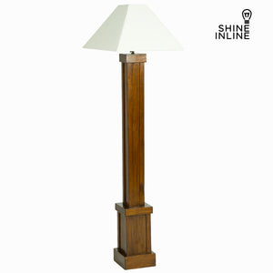 Floor Lamp Mindi wood (173 x 40 x 40 cm) by Shine Inline