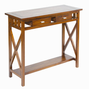 Hall Table with 2 Drawers Craftenwood (90 x 34 x 80 cm) - Serious Line Collection