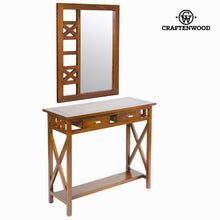 Load image into Gallery viewer, Hall Table with 2 Drawers Craftenwood (90 x 34 x 80 cm) - Serious Line Collection