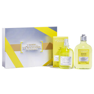 Men's Perfume Set Eau De Cedrat L´occitane (2 pcs)