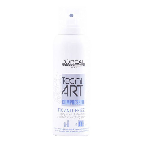 Strong Hold Hair Spray Fix Antifrizz Spray L'Oreal Expert Professionnel (125 ml)