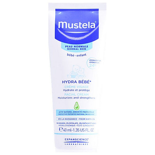Hydrating Facial Cream for Babies Mustela (40 ml)