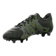 Load image into Gallery viewer, Adult's Football Boots Adidas X 15.2 FG/AG Leather Black