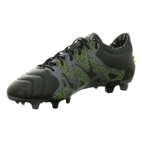 Adult's Football Boots Adidas X 15.2 FG/AG Leather Black