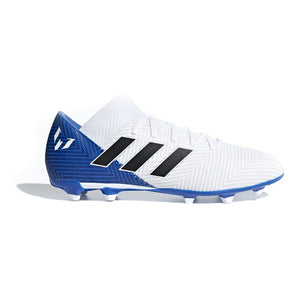 Adult's Football Boots Adidas Nemeziz Messi 18.3 FG White